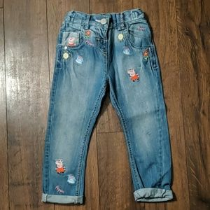 NWOT Next Jeans with Peppa Pig